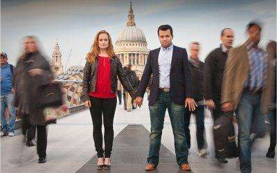 Engagement shoot London – Emily & Adam