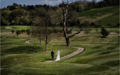 Woldingham golf club wedding photographer Surrey