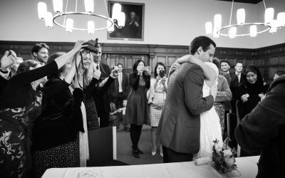 Oxford town Hall wedding photographer – Just one pic.